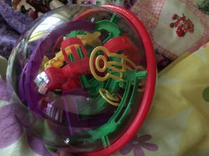 Perplexus must be made by the devil!