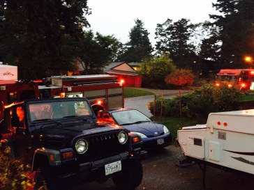 Saanich Fire Department coming to save the day